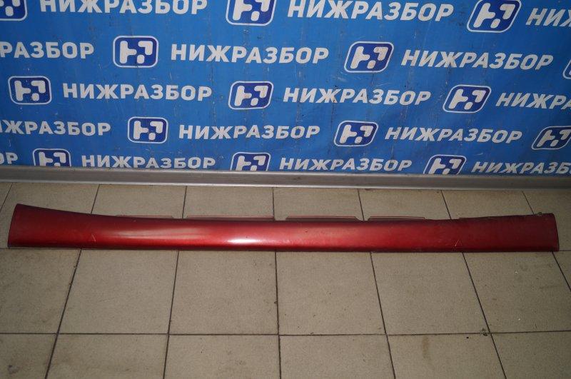 Накладка на порог (наружная) Fiat Albea 1.4 (350A1000) 4594700 2008 левая (б/у)