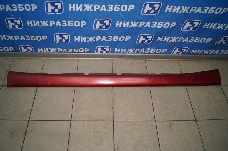 Накладка на порог (наружная) Fiat Albea 1.4 (350A1000) 4594700 2008 правая (б/у)