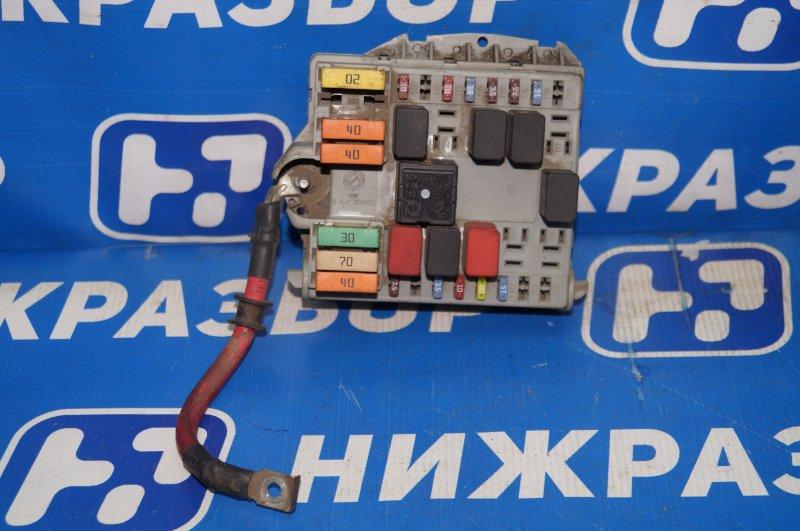 Блок предохранителей Fiat Albea 1.4 (350A1000) 4594700 2008 (б/у)