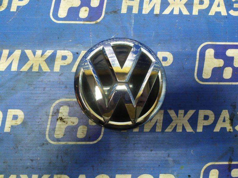 Значок (эмблема) Volkswagen Tiguan задний (б/у)