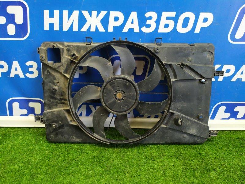 Вентилятор радиатора Opel Astra J передний (б/у)