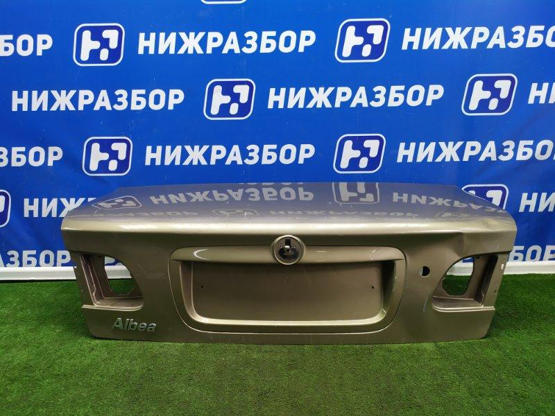 Крышка багажника Fiat Albea задняя (б/у)