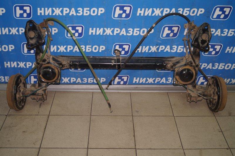 Балка Fiat Albea 1.4 (350A1000) 4594700 2008 задняя (б/у)