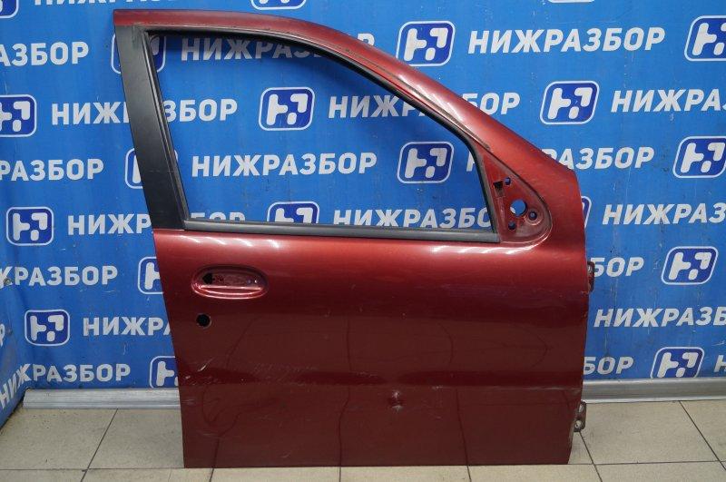 Дверь Fiat Albea 1.4 (350A1000) 4594700 2008 передняя правая (б/у)