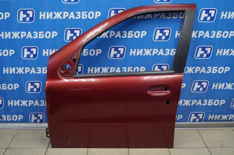 Дверь Fiat Albea 1.4 (350A1000) 4594700 2008 передняя левая (б/у)