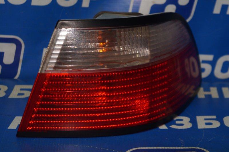 Фонарь наружный Fiat Albea 1.4 (350A1000) 4594700 2008 задний правый (б/у)