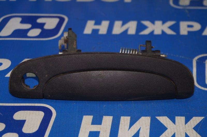 Ручка двери наружная Hyundai Getz 2002 передняя правая (б/у)