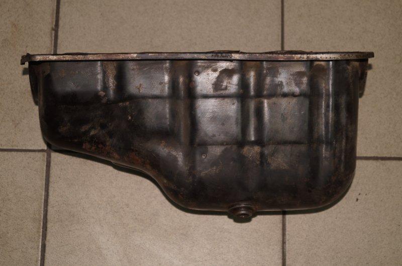Поддон масляный двигателя Fiat Albea 1.4 (350A1000) 4594700 2008 (б/у)