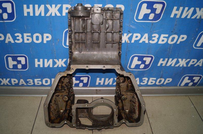 Поддон масляный двигателя Bmw 7-Серия E65/E66 4.8 N62B48 (б/у)