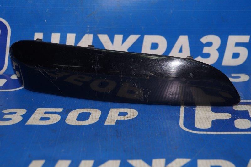 Накладка бампера Peugeot 308 1.6 EP6 2008 передняя правая (б/у)