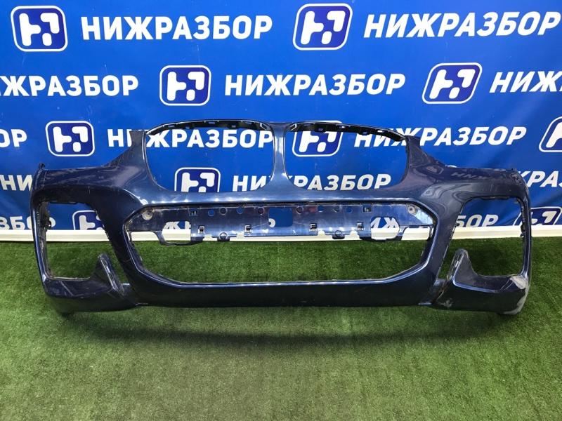 Бампер Bmw X3 G01 передний (б/у)