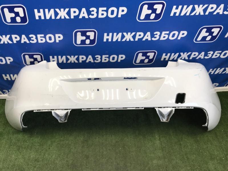 Бампер Opel Astra J СЕДАН задний (б/у)