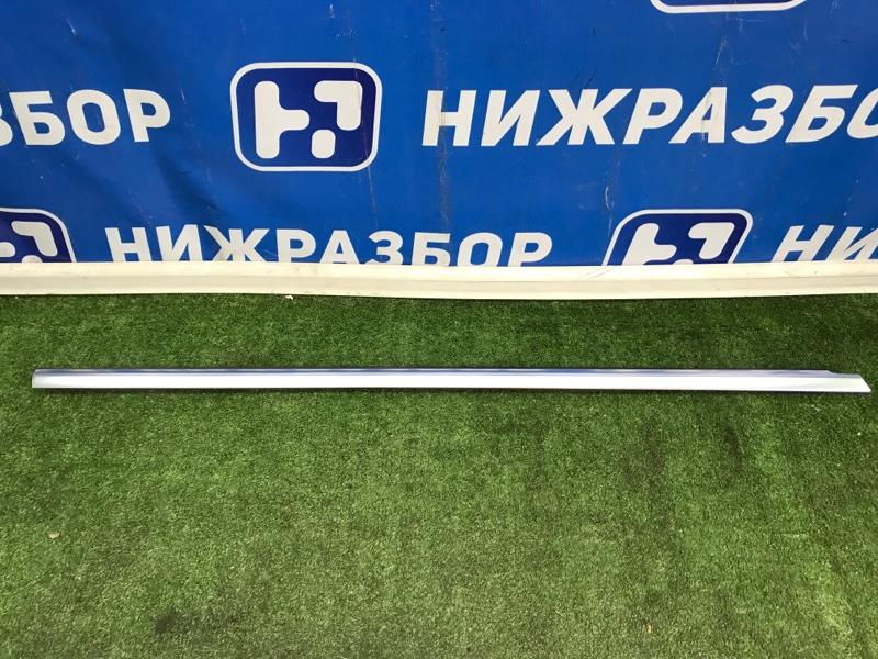 Уплотнитель стекла двери Mercedes Glc X253 2015> передний правый (б/у)