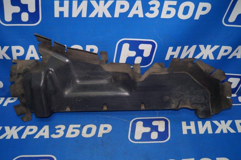 Воздуховод радиатора Peugeot 308 1.6 EP6 2008 правый (б/у)