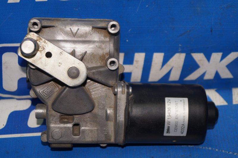 Моторчик стеклоочистителя Citroen C4 1.6 10FHCMPSA5F01 2012 передний (б/у)