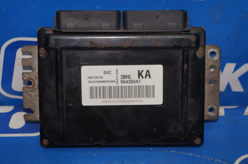 Блок управления двигателем Chevrolet Lacetti 1.4 (F14D3) 2008 (б/у)