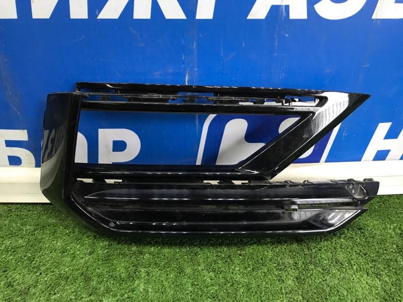 Решетка в бампер Volkswagen Tiguan передняя правая (б/у)