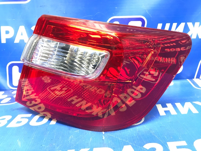 Фонарь наружный Toyota Camry V50 2011 задний правый (б/у)