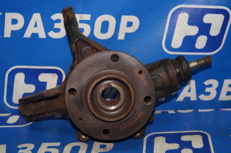 Кулак поворотный Citroen C4 1.6 10FHCMPSA5F01 2012 передний левый (б/у)