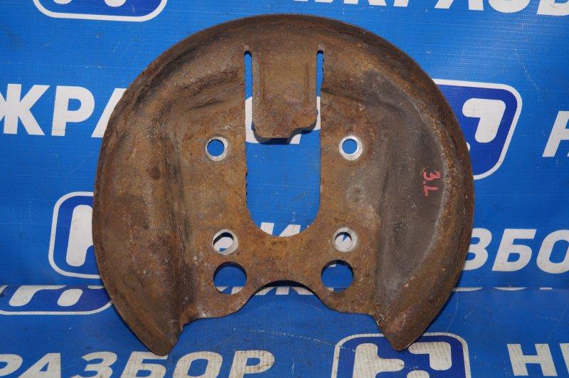 Пыльник тормозного диска Citroen C4 1.6 10FHCMPSA5F01 2012 задний левый (б/у)