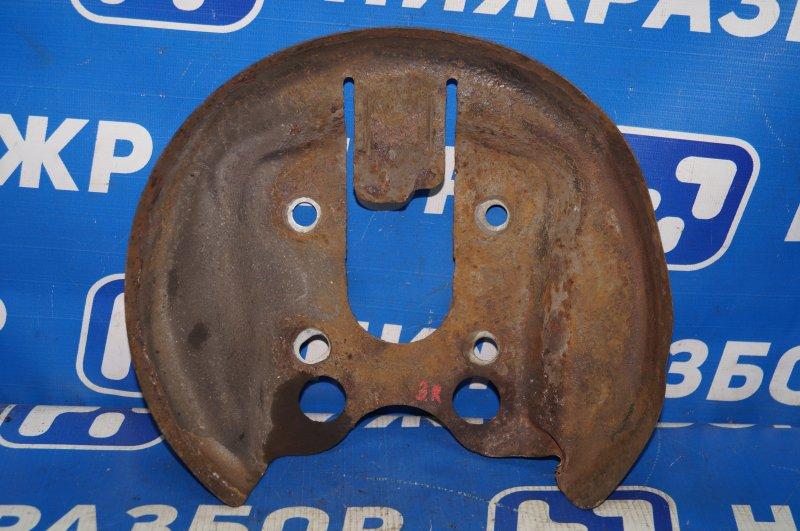 Пыльник тормозного диска Citroen C4 1.6 10FHCMPSA5F01 2012 задний правый (б/у)