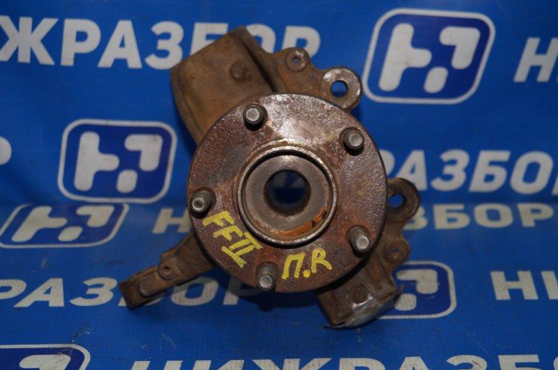 Кулак поворотный Ford Focus 2 передний правый (б/у)