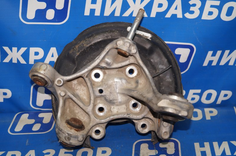 Кулак поворотный Honda Accord 9 2013 задний левый (б/у)