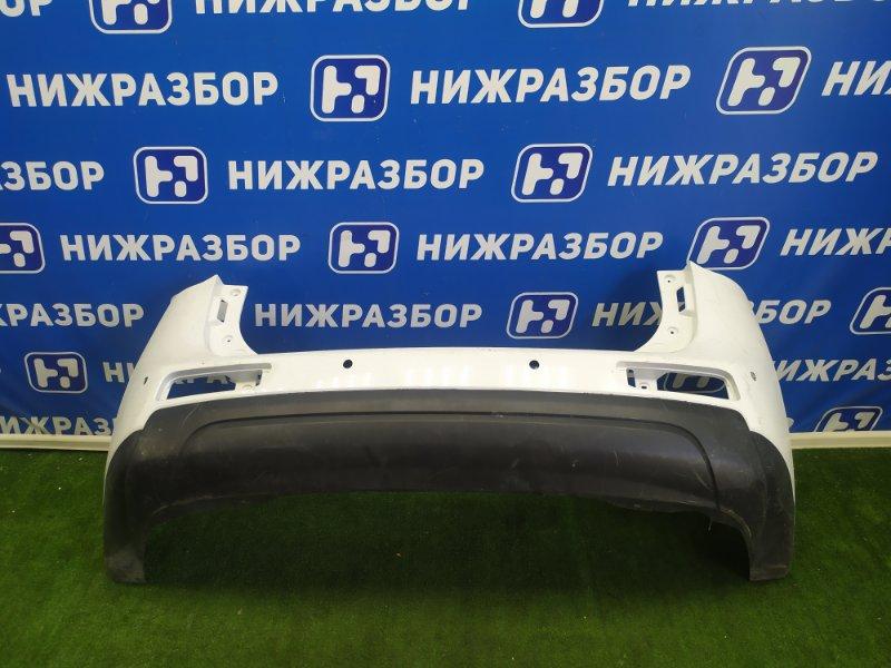 Бампер Mitsubishi Outlander 3 задний (б/у)
