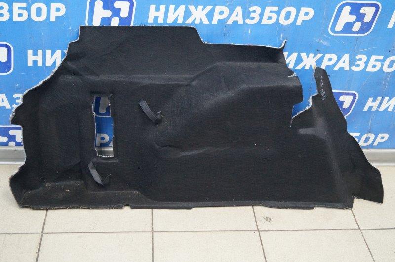 Обшивка багажника Ford Focus 3 2011 задняя левая (б/у)