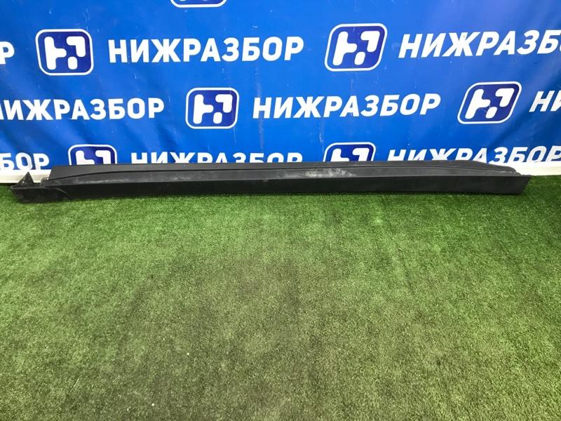 Накладка на порог (наружная) Mitsubishi Outlander GF 2012> левая (б/у)