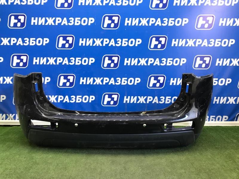 Бампер Mitsubishi Outlander GF 2012> задний (б/у)