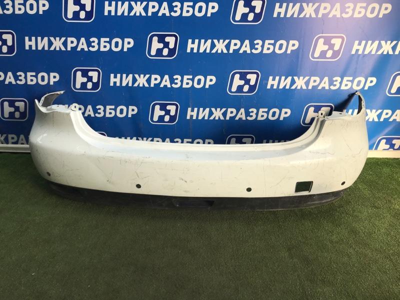 Бампер Nissan Almera G15 задний (б/у)
