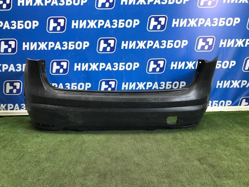 Бампер Nissan Qashqai J11 2014> задний (б/у)