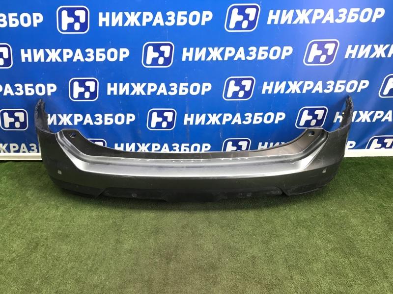 Бампер Nissan X-Trail T32 2014> задний (б/у)