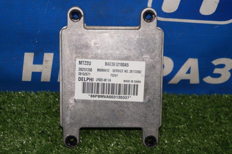 Блок управления двигателем Lifan Solano 620 1.6 LF481Q3 2011 (б/у)