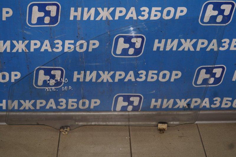 Стекло двери Lifan Solano 620 1.6 LF481Q3 2011 переднее левое (б/у)