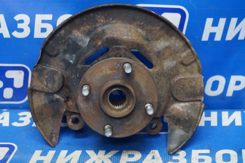 Кулак поворотный Lifan Solano 620 1.6 LF481Q3 2011 передний левый (б/у)