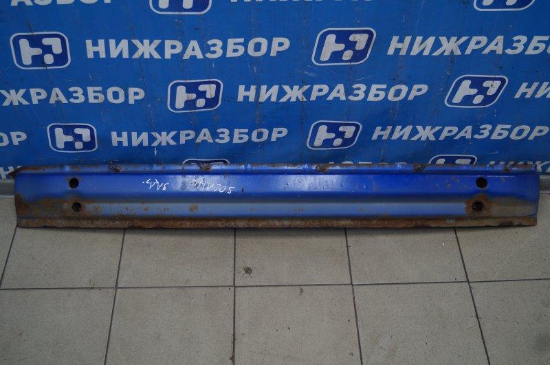Усилитель бампера Lifan Solano 620 1.6 LF481Q3 2011 задний (б/у)