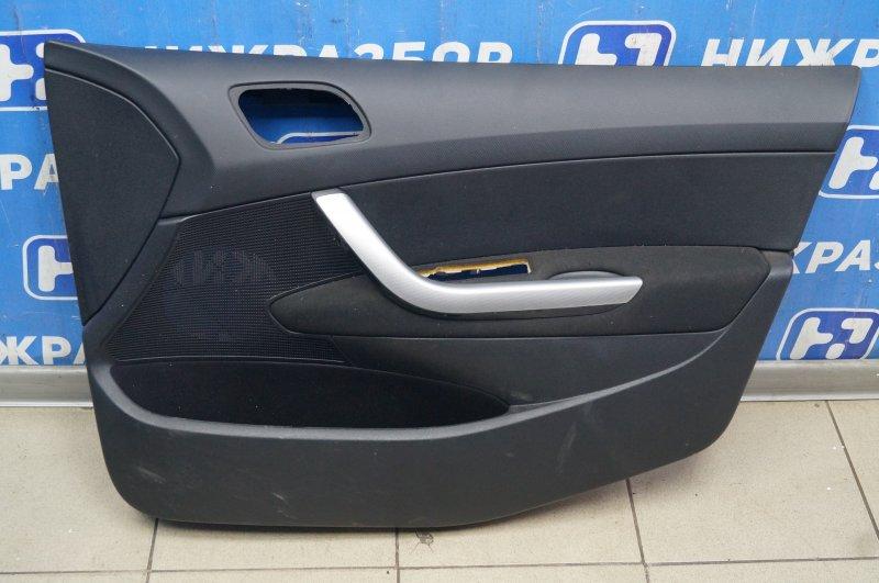 Обшивка двери Peugeot 308 1.6 EP6 2008 передняя правая (б/у)