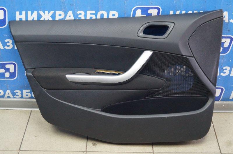 Обшивка двери Peugeot 308 1.6 EP6 2008 передняя левая (б/у)