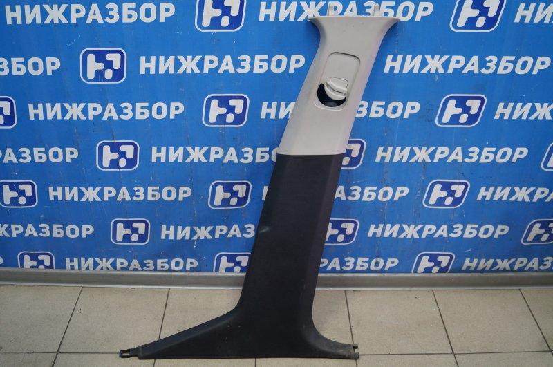Обшивка стойки Peugeot 308 1.6 EP6 2008 правая (б/у)