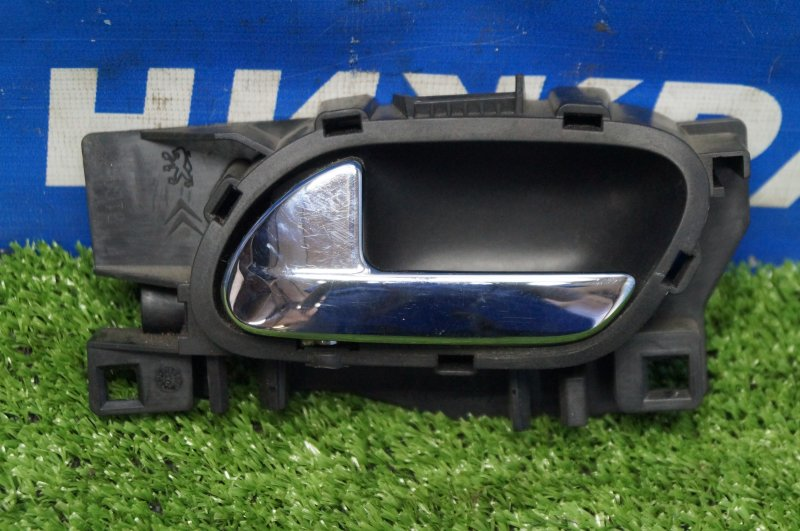 Ручка двери внутренняя Peugeot 308 1.6 EP6 2008 передняя левая (б/у)