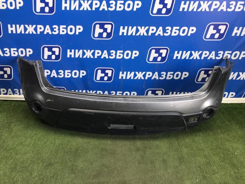 Бампер Nissan Qashqai +2 JJ10 задний (б/у)