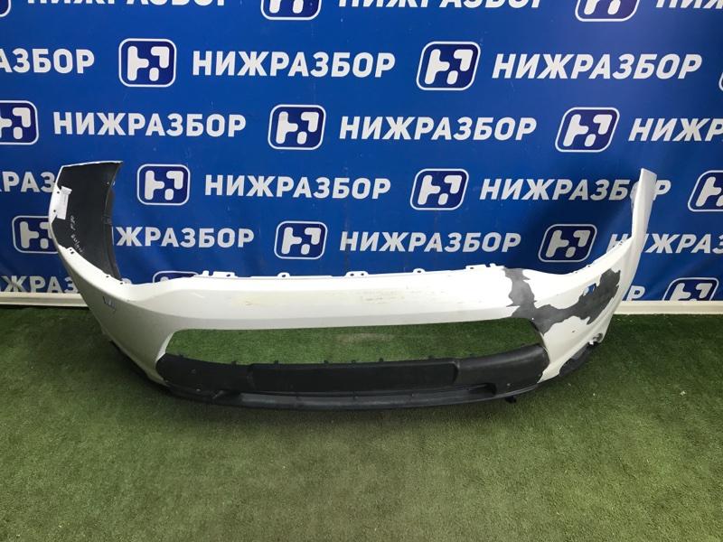 Бампер Mitsubishi Outlander GF передний (б/у)