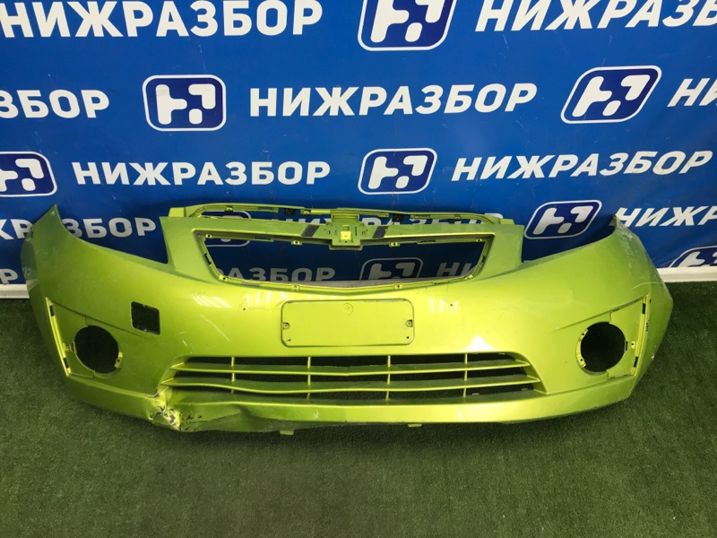 Бампер Chevrolet Spark передний (б/у)