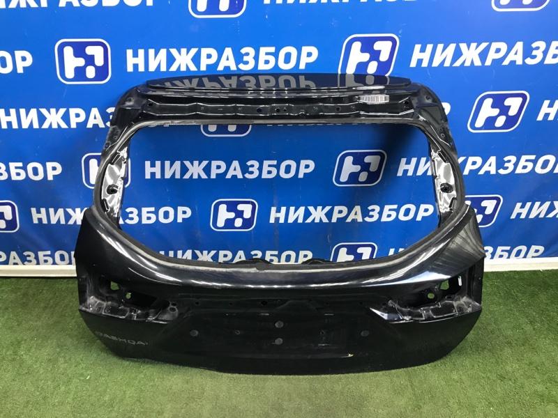 Дверь багажника Nissan Qashqai J11 задняя (б/у)