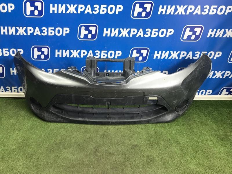 Бампер Nissan Qashqai J11 2014> передний (б/у)