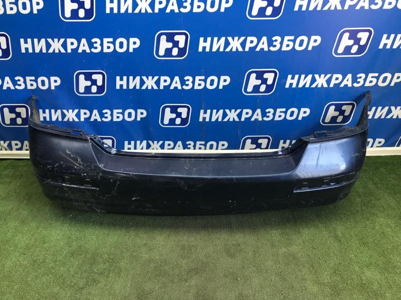 Бампер Nissan Tiida задний (б/у)