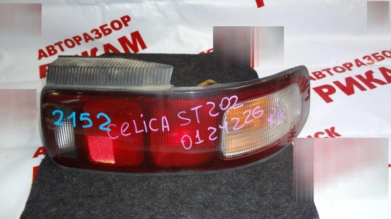 Стоп-сигнал Toyota Celica ST202 правый