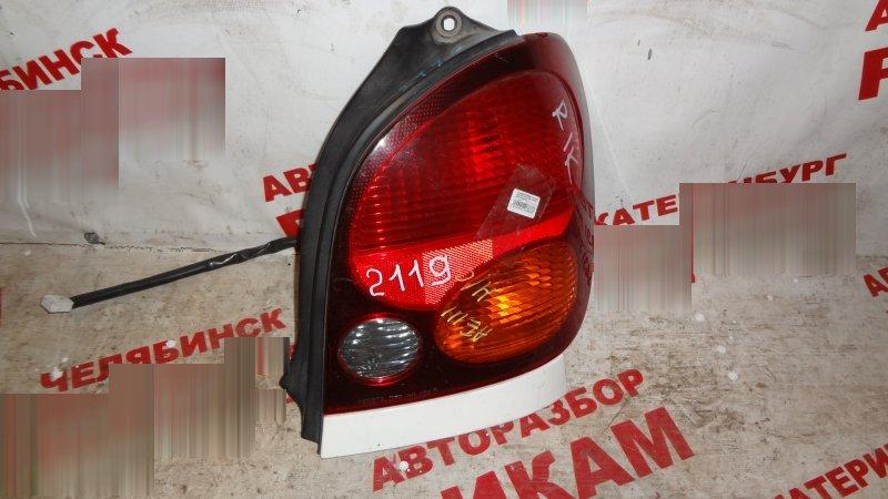 Стоп-сигнал Toyota Corolla Spacio AE111 правый
